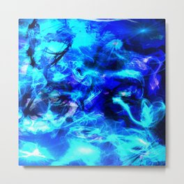 Blue Serenity II Metal Print