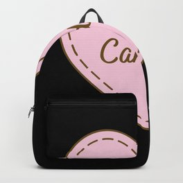 I Love Candles Simple Heart Design Backpack