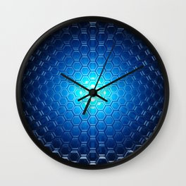 Abstract background pattern Wall Clock
