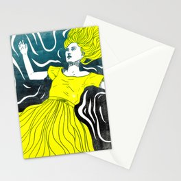 Drifting [YELLOW version] Stationery Cards
