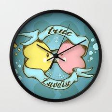 True Luvdisc Wall Clock