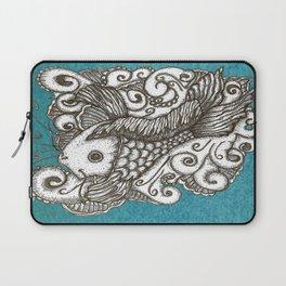 Sharpie Fish Laptop Sleeve
