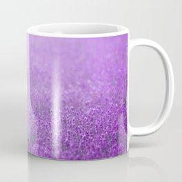 Rain on Lavender Coffee Mug