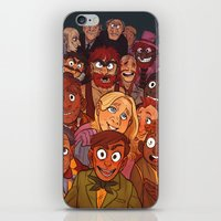 muppets iPhone & iPod Skins featuring The Muppets by Groovy Bastard