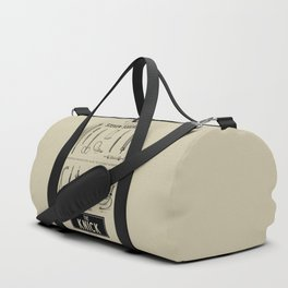 The Knick - Rétro Poster (Tv Series by S. Soderbergh) Duffle Bag