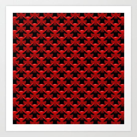"""""""Little Red Devils"""" Art Print"""