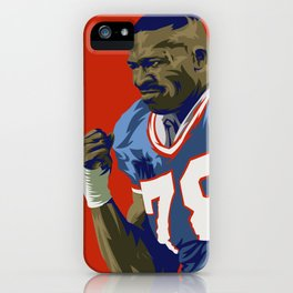 Bruise Smith iPhone Case