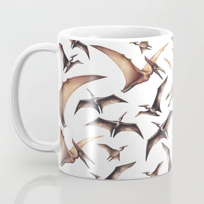 Realistic watercolor dinosaur Coffee Mug