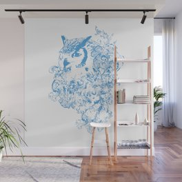 THE OBSCURE OWL Wall Mural