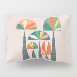 Quirky retro palm trees Pillow Sham