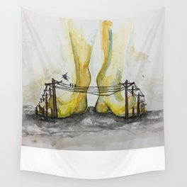 Telefoot Wall Tapestry