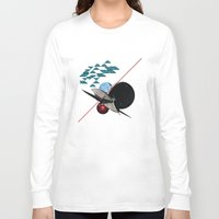 2001 Long Sleeve T-shirts featuring 2001 by lina