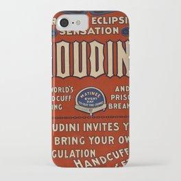Poster Harry Houdini iPhone Case