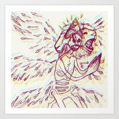 Anya's Angel Art Print