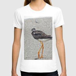 Greater Yellowlegs  Walks Away T-shirt
