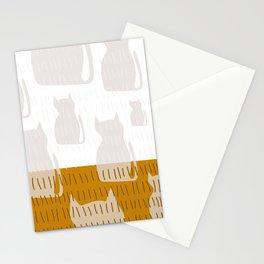 Coit Cat Pattern 4 Stationery Cards