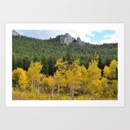 Promontory Ridge Colorado Art Print