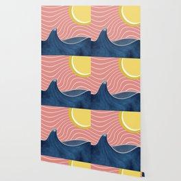 Sun, beach and sea Wallpaper