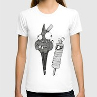 dress T-shirts featuring Fancy Dress by Emily Shaw