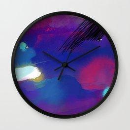 Woke Fire Wall Clock