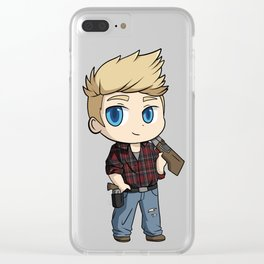 Shane from Immortal Love Clear iPhone Case