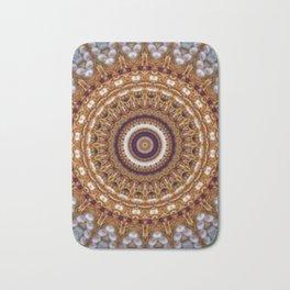 Mandala Pearls Art Bath Mat