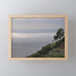 Facing the Sea Framed Mini Art Print