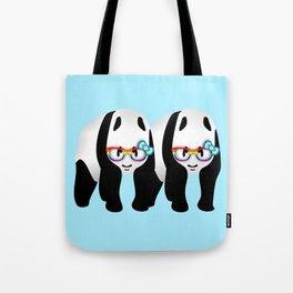 Gay Pride Pandas Tote Bag