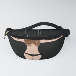Don't play with me and my heart Fanny Pack