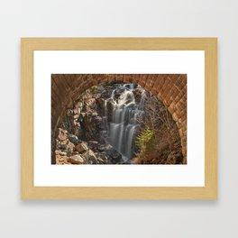 Hadlock Arch Falls Framed Art Print