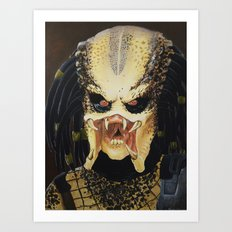The Predator Art Print