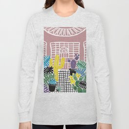 Cacti & Succulent Greenhouse Long Sleeve T-shirt