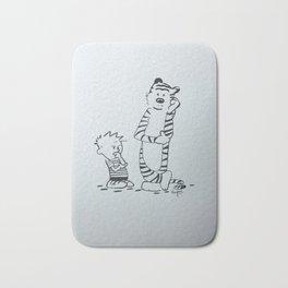 Calvin & Hobbes Bath Mat