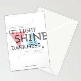 2 CORINTHIANS 4:5-6 Stationery Cards