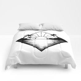 Triangle paradis Comforters