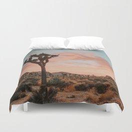 Joshua Tree IX / California Desert Duvet Cover