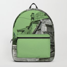 green Venice Backpack