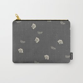 Virgo Pattern Carry-All Pouch