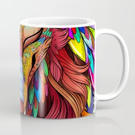 The Joy of Living Colors Coffee Mug