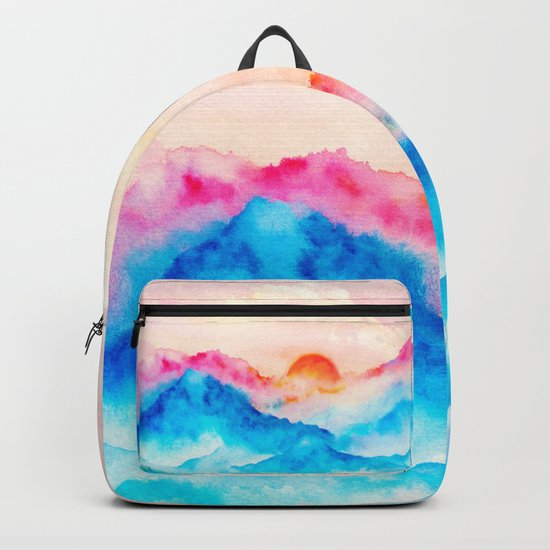 Sunset w.01 Backpack