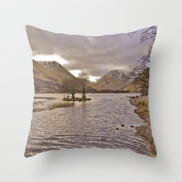 Brother's Water - Lake District Throw Pillow