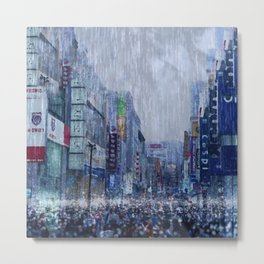 The Downpour Metal Print