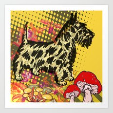 Scottish pop art Art Print