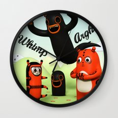 Sniff and Boo Wall Clock