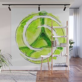 A twist of lime (lite) Wall Mural
