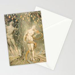 """William Blake """"The Temptation and Fall of Eve (Illustration to Milton's 'Paradise Lost')"""" Stationery Cards"""