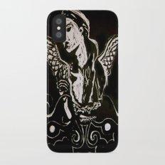 Black (Wings/Angel) Slim Case iPhone X