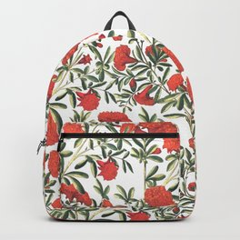 red climbing flowers Backpack