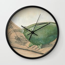 Piggy bank and savings bank book, Frans Everbag, 1915 Wall Clock