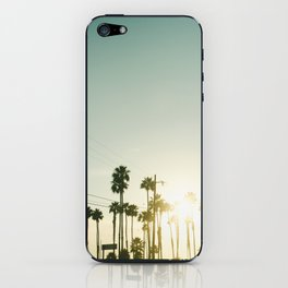 palm trees iPhone Skin